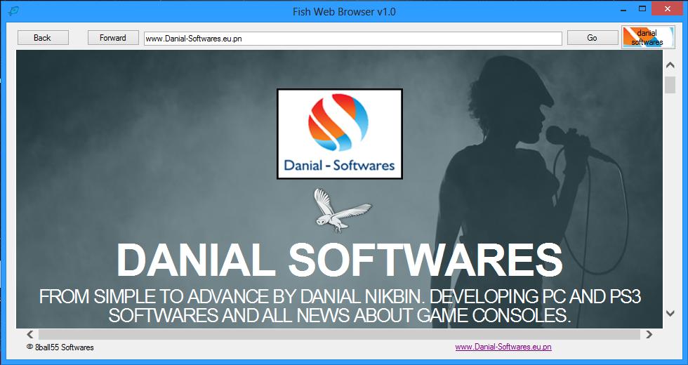 Fish web browser v1.0
